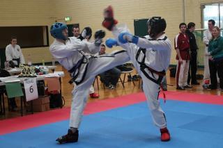 Taekwon-do sparring